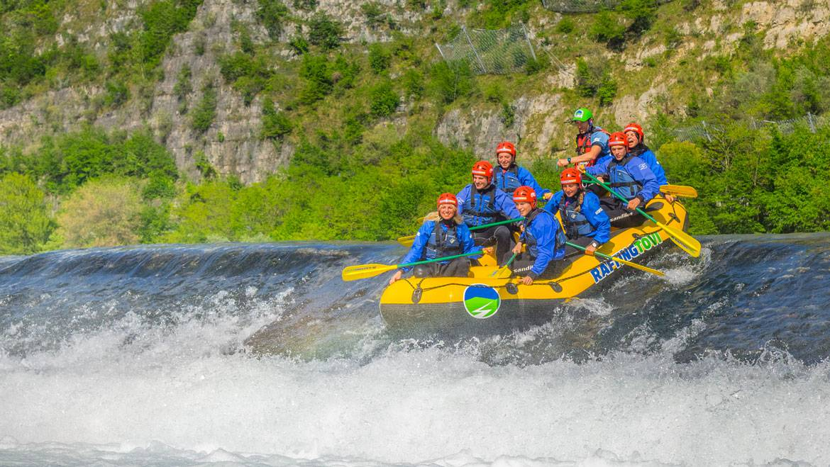 Rafting rescue
